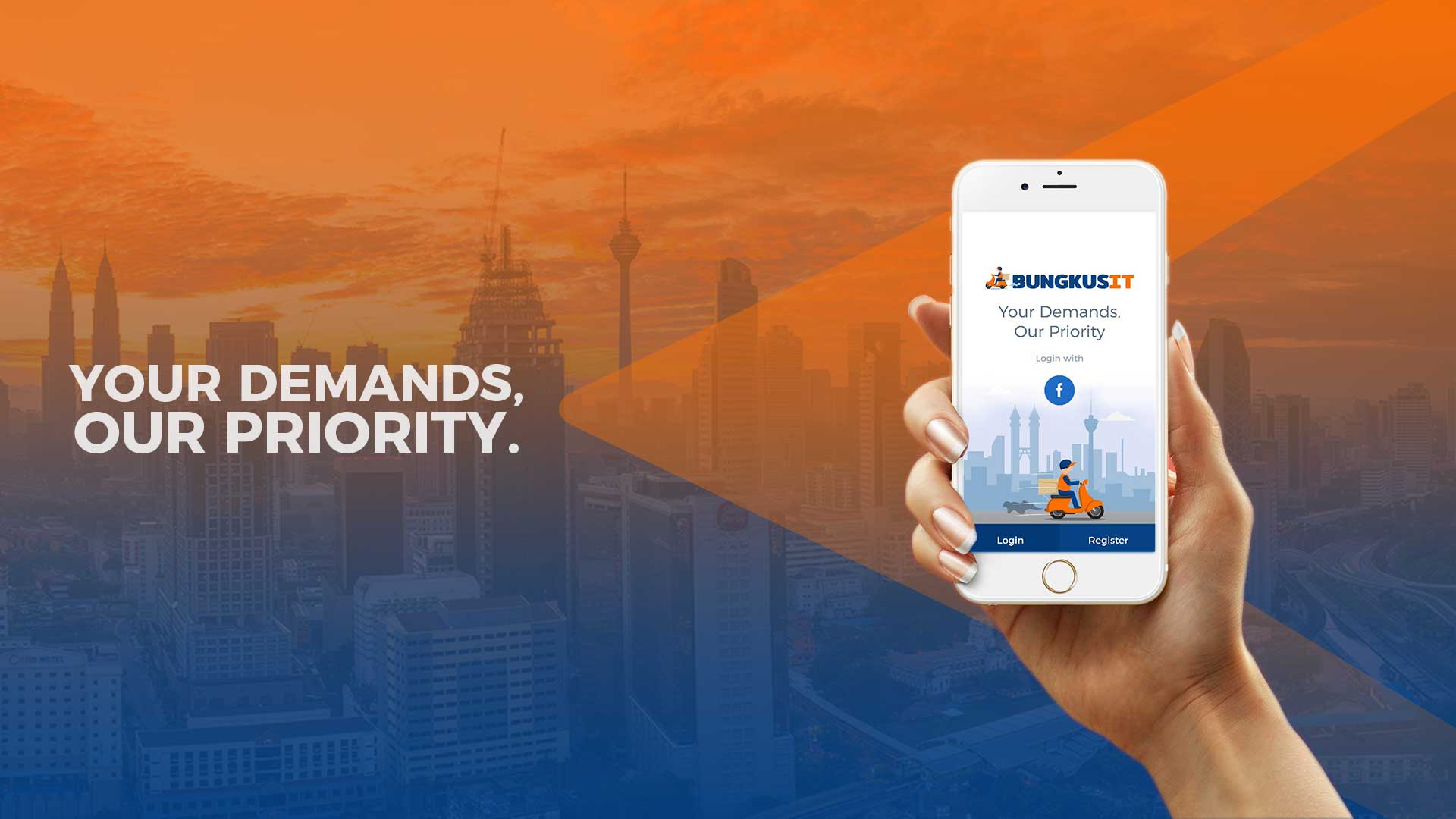 Bungkusit the Fastest way to run your errands