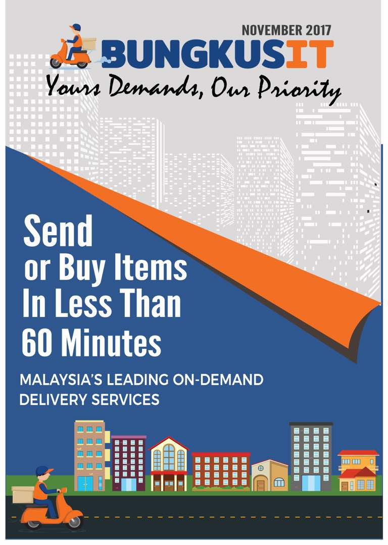 bungkusit buy and send deliver anything in 60 minutes